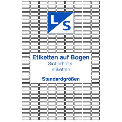 Sicherheitsetiketten-Standard-LSUK